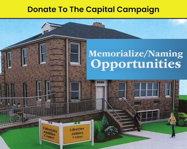 Advertisement for Capital Campaign Donations